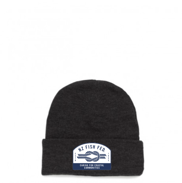 NZ Fish Fed Beanie