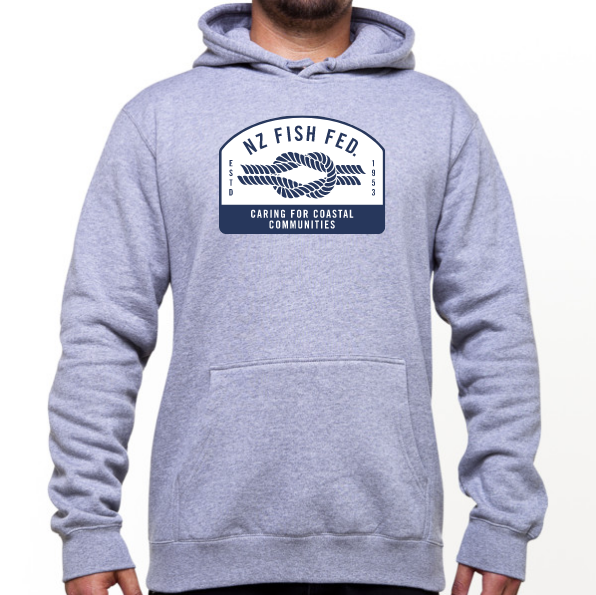 NZ Fish Fed Men's Hoodie