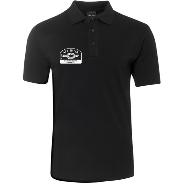 NZ Fish Fed Polo Shirt