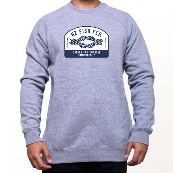 NZ Fish Fed Men's Sweatshirt