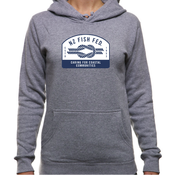 NZ Fish Fed Women's Hoodie